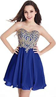 royal blue and gold quinceanera dresses