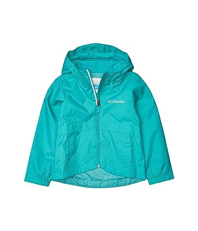 Columbia Kids Rain-Zillatm Jacket (Little Kids/Big Kids) (Bright Aqua) Girl