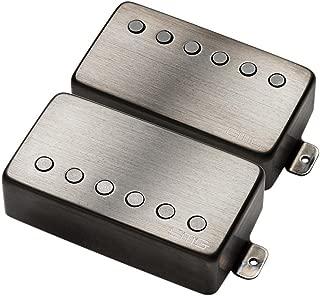 EMG James Hetfield JH Humbucker Pickup Set Brushed Black Chrome 4535.00 w/Bonus RIS Pick (x1) 654330214813