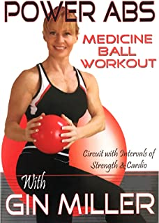 Gin Miller's Power Abs Medicine Ball Workout