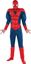 SUIT YOURSELF Classic Spider-Man Muscle Costume for Adults, Standard Size, Includes a Padded Jumpsuit and a Mask