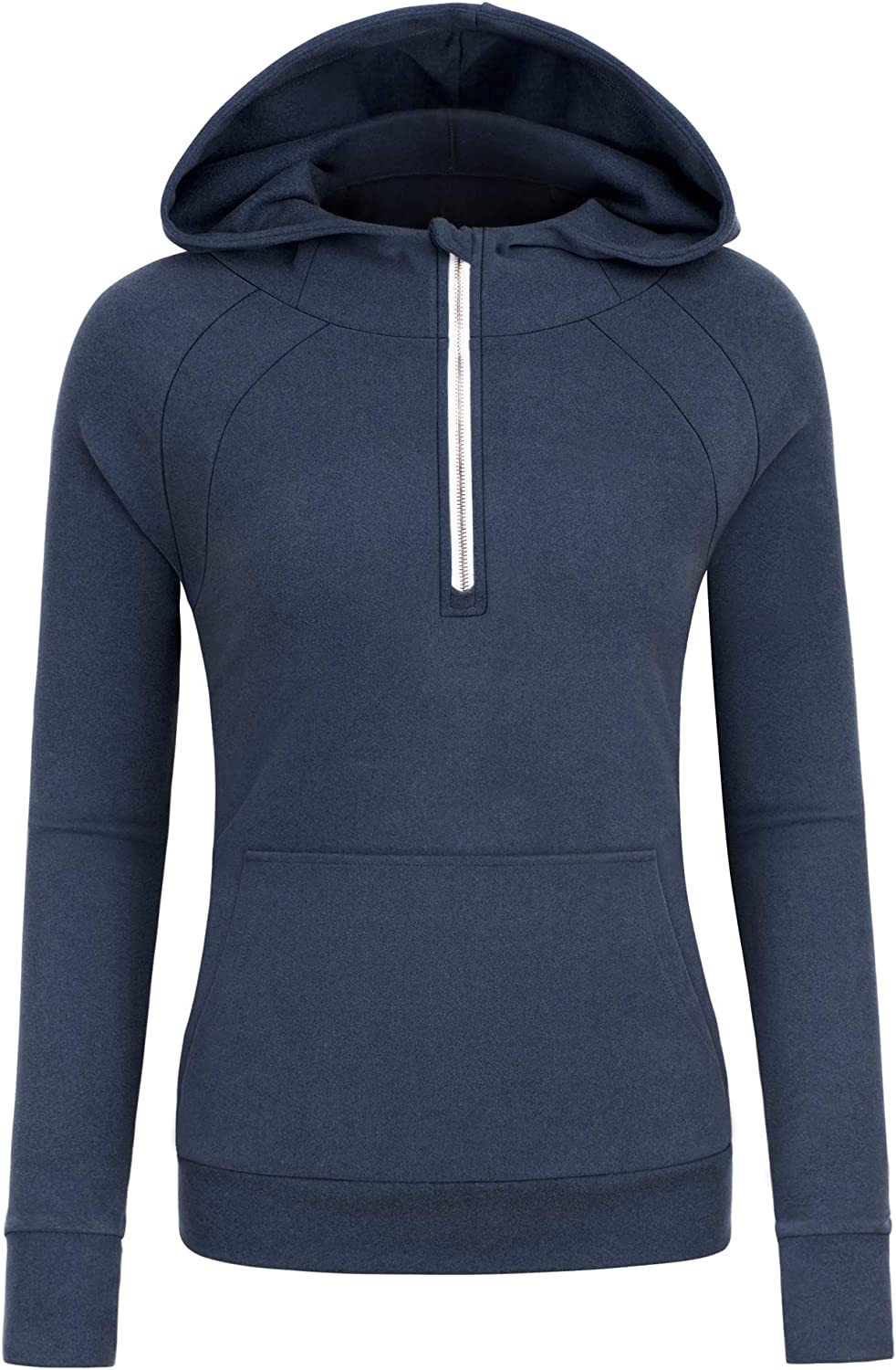 Reshe Women's Casual Hoodies Tunic Sweatshirts Jackets Plus Size Hoodie with Pockets, S-5XL