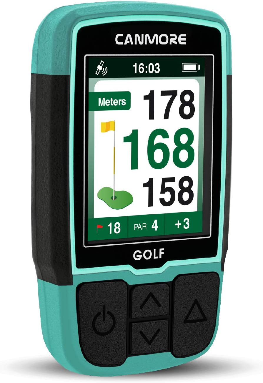 New item CANMORE Handheld Golf GPS HG200 Water - Resistant Full-Color Dis Max 85% OFF