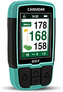 $99 » CANMORE Handheld Golf GPS HG200 - Water Resistant Full-Color Display with 38,000+ Essential Golf Course Data and Score She...