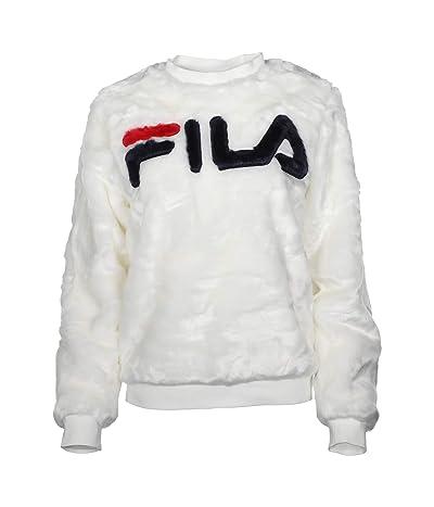 Fila Emmeline Sweatshirt (White/Peacoat/Red) Women