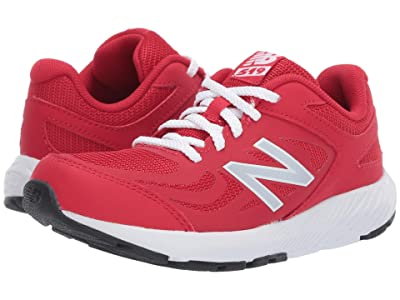 New Balance Kids 519v1 (Little Kid/Big Kid) (Team Red/White) Boys Shoes