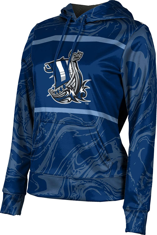 ProSphere Western Washington University Girls' Pullover Hoodie, School Spirit Sweatshirt (Ripple)