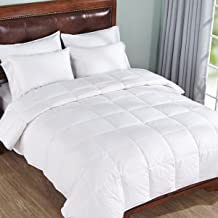 "Linenwalas All Season 5* Star Microfiber Anti Allergic Warm Duvet/AC Comforter/Quilt Special for Winters-Solid White-King Size (90"" x 100)"
