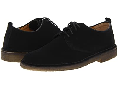 Clarks Desert London (Black Suede) Men