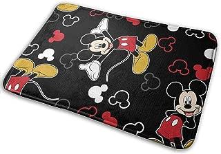 Meirdre Welcome Door Mat Mickey Mouse Black Indoor Outdoor Entrance Rug Floor Mats Shoe Scraper 15.7