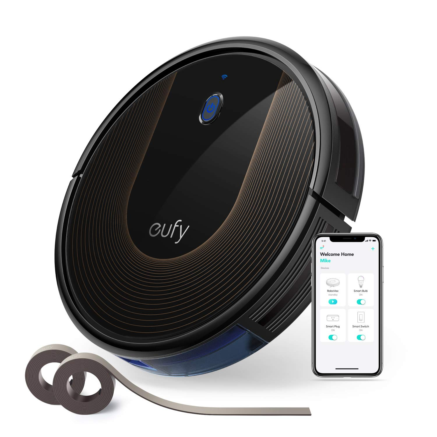 eufy Upgraded Super Thin Self Charging Medium Pile