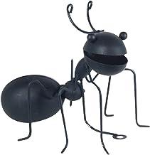 Art Deco Home - Figura Metalica Hormiga Negra 16 cm - 0443