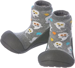 Attipas Halloween Baby Walker Shoes, Grey, Small