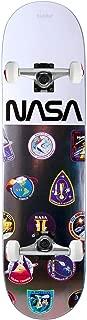 Habitat X NASA Skateboard Complete Mission Logo Array 8.0