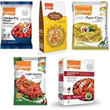 Eastern Chicken 65(50 g), Kabab Masala(100 g), Chilly Chicken Masala(100 g), Pepper Chicken Masala(100 g), Hyderabad Birya...