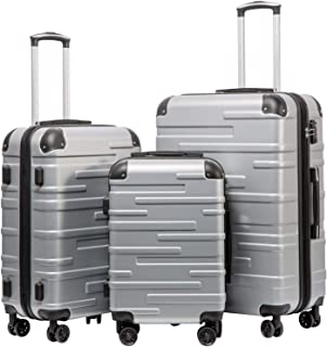 hardside luggage 3 piece set