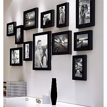 Art Street Synthetic Wall Photo Frame (Black & White)