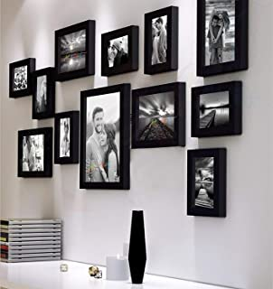 Art Street Synthetic Wall Photo Frame (Black & White)