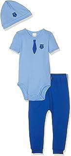 Schiesser Baby-Jungen Polizei Unterwäsche-Set 3er Pack