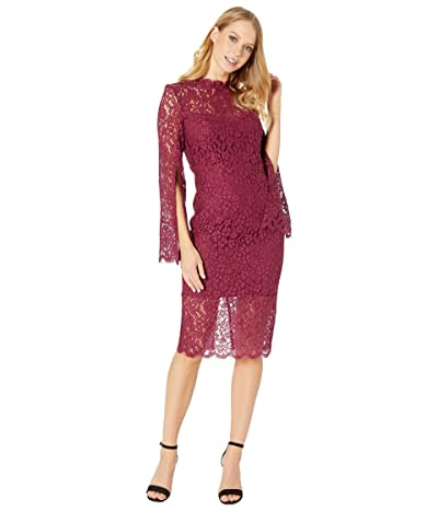 Bardot Sienna Midi Dress (Boysenberry) Women