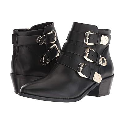 Taryn Rose Samantha (Black Luxe Leather) Women