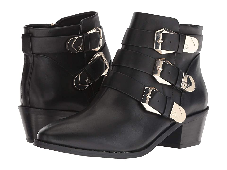 Taryn Rose Samantha (Black Luxe Leather) Women