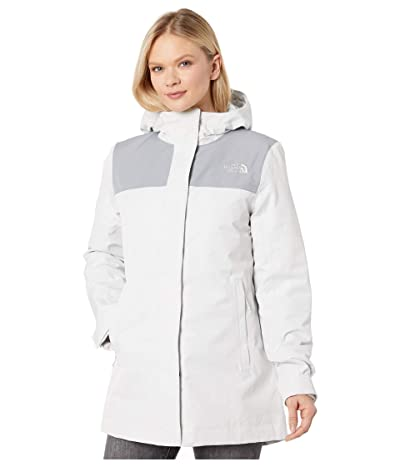 The North Face Menlo Insulated Parka (Tin Grey/Mid Grey) Women