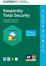 Kaspersky Total Security 2017 | 3 Device | 1 Year | Download [Online Code]