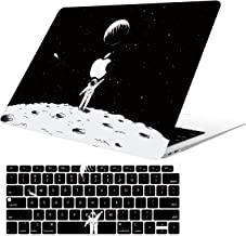 AOGGY New MacBookAir 13 Inch Model:A1932(with Retina Display/Touch ID,2018 Release) Outer Space Model Ultra-Thin HD Painted Plastic Coated PC Hard Shell Protector Cover with Keyboard Cover-Astronaut