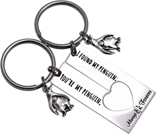 Penguin Lover Gifts You're My Penguin I Found My Penguin Couple Keychains Boyfriend Girlfriend Keychains for Women