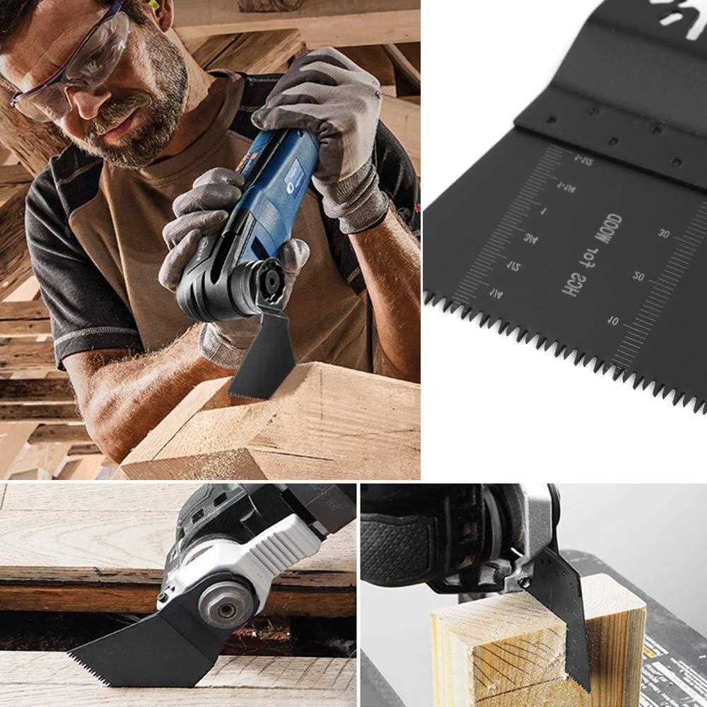 Cuchillas multiusos oscilantes universales de madera y metal 10 Pcs