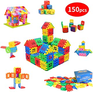 MICHLEY Builder Sets for Kids 150-Piece Builders Blocks, Classic