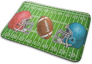 Door Mats American Football Floor Mat Indoor Outdoor Entrance Bathroom Doormat Non Slip Washable Welcome Mats Decor 23.6 x...