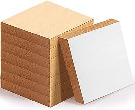 8 Paquetes Notas Adhesivas Notas Autoadhesivas de Papel Amarillas 2X Poder Pegado 3 x 3 Pulgadas
