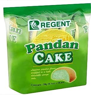 Regent Pandan Cake, 20grams x 10 pieces