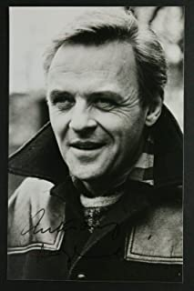 anthony hopkins autograph