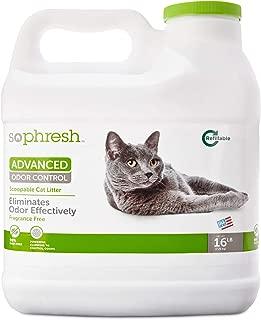 SO PHRESH Advanced Odor Control Scoopable Fragrance Free Cat Litter