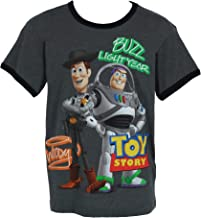 Disney Toy Story Boy's T-Shirt Woody Buzz Print Youth Ages 4-14