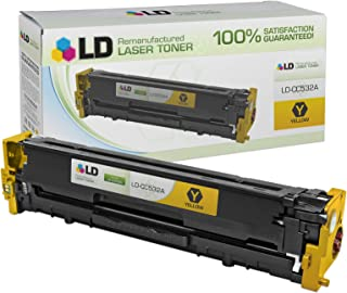 LD Compatible Toner Cartridge Replacement for HP 304A CC532A (Yellow)