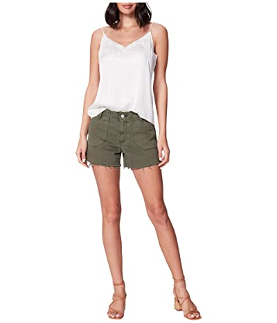 Paige Mayslie Utility Shorts in Vintage Ivy Green (Vintage Ivy Green) Women