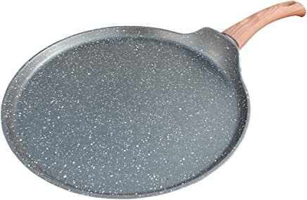 Westinghouse Marble Coated Non-Stick 11-inch Grey Crepé Pan