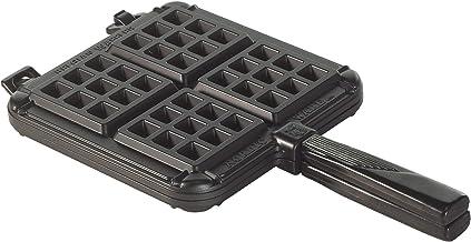 Nordicware 15040 Cast Aluminum Stovetop Belgium Waffler Black