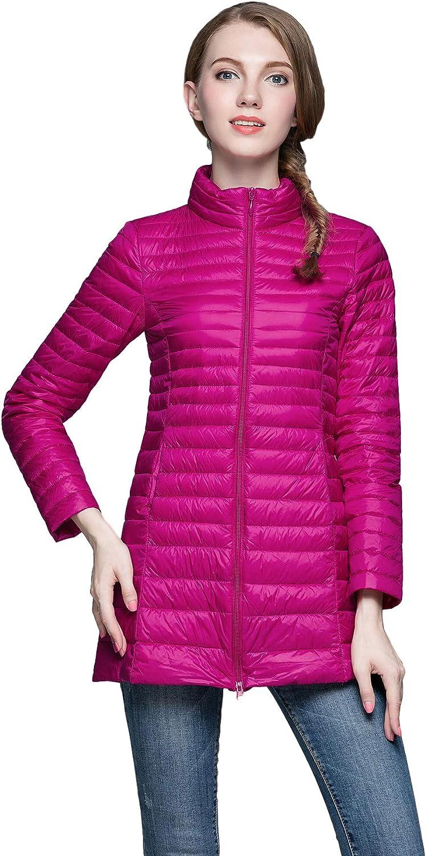 Camii Sacramento Mall Mia Women's Packable Water Resistant Regular discount Lig Ultra Coat Winter
