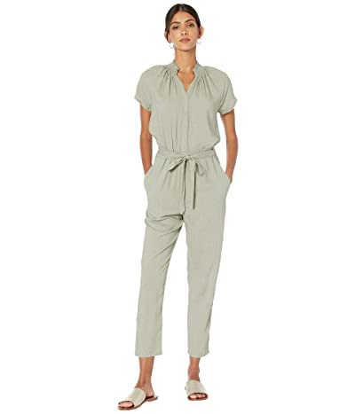 Jack by BB Dakota Jumpsuit with Smocking (Sage) Women