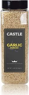 Castle Foods | Garlic Minced, 23 oz Premium Restaurant Quality - NonGMO Kosher