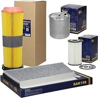 LNIEGE Benzin Benzin Kraftstoff In-Line Filterreiniger eloxierte Aluminium Kraftstofffilter 6mm Kraftstofffilter