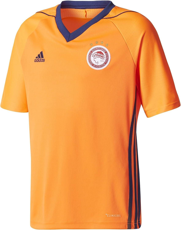 adidas Kids Boy Tshirts Olympiakos FC Jersey Away Soccer Climaco