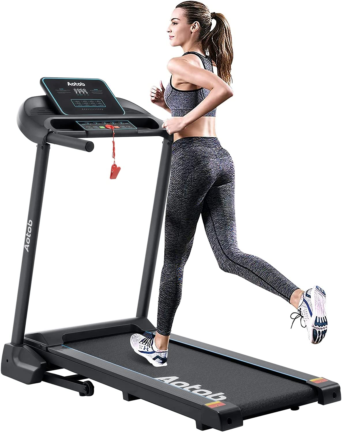 Seattle Mall trend rank Aotob Treadmills for Home Foldable and W Running