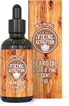 Beard Oil Conditioner - All Natural Cedarwood & Pine Scent with Organic Argan & Jojoba Oils - Softens & Strengthens Beards...