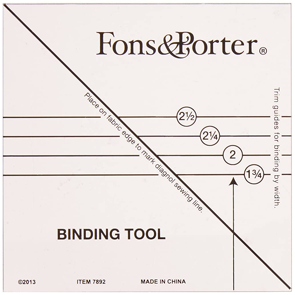 Fons & Porter R7892 Binding Tool